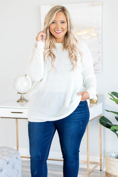 sweater, long sleeve, long, loose, white, comfy, fall, winter