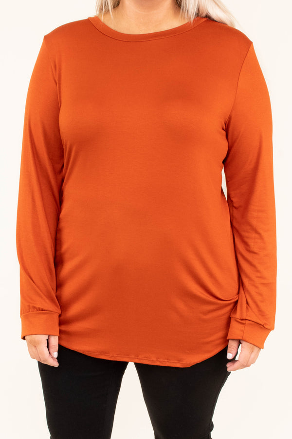 shirt, long sleeve, elbow patches, long, fitted, orange, comfy, fall, winter