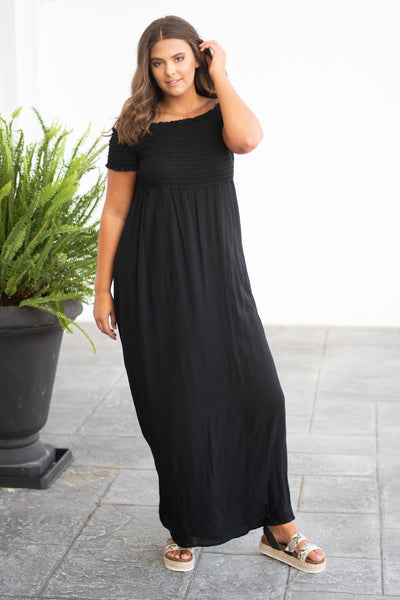 Time To Dance Maxi Dress, Black