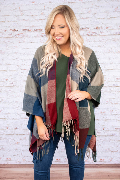 Trusted Traveler Poncho, Multi