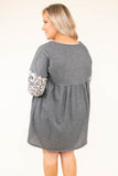 One Stop Shop Dress, Charcoal