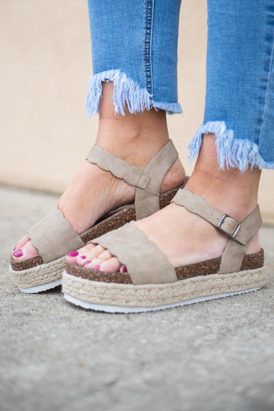 All It Takes Wedges, Taupe