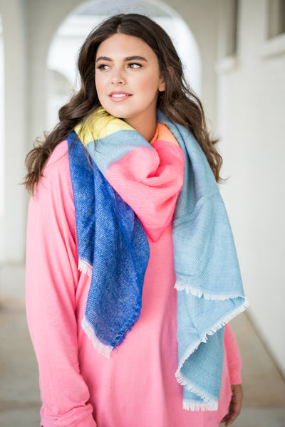 Craving Color Scarf, Multi