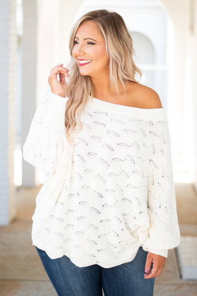 Angel In You Sweater, Ivory