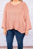 sweater, long sleeve, bell sleeve, pink, solid, flowy, comfy, fall, winter