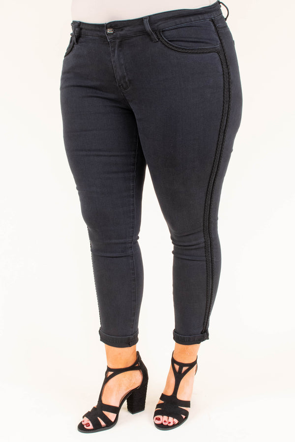 Keep On Loving You Jeans, Black