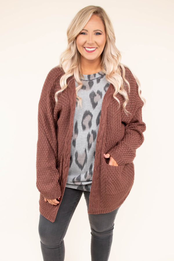cardigan, long sleeve, pockets, long, mocha, comfy, fall, winter