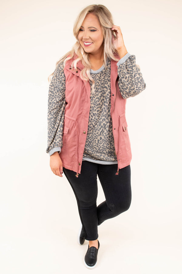 vest, zipper, good, pockets, drawstring waist, pink, outerwear, comfy, fall, winter