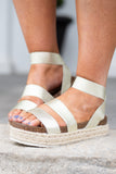 shoes, sandals, wedges, platform, straps, gold