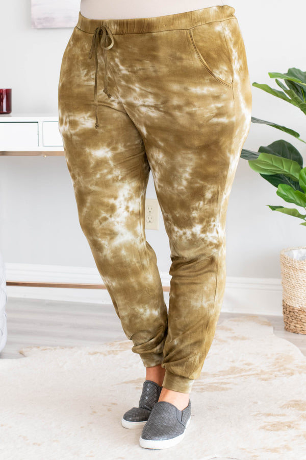 It's Better Like That Pants, Olive