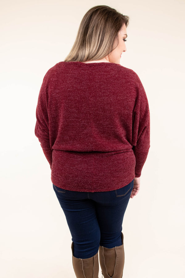 shirt, long sleeve, fitted, burgundy, heathered, comfy, fall, winter