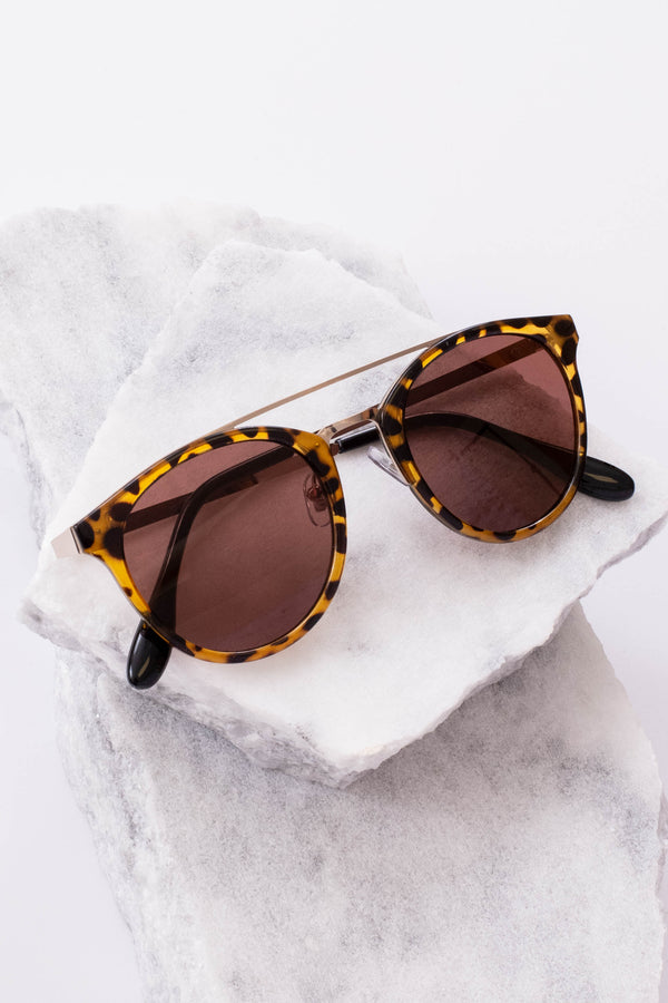 sunglasses, aviator style, acrylic, tortoise, brown, black