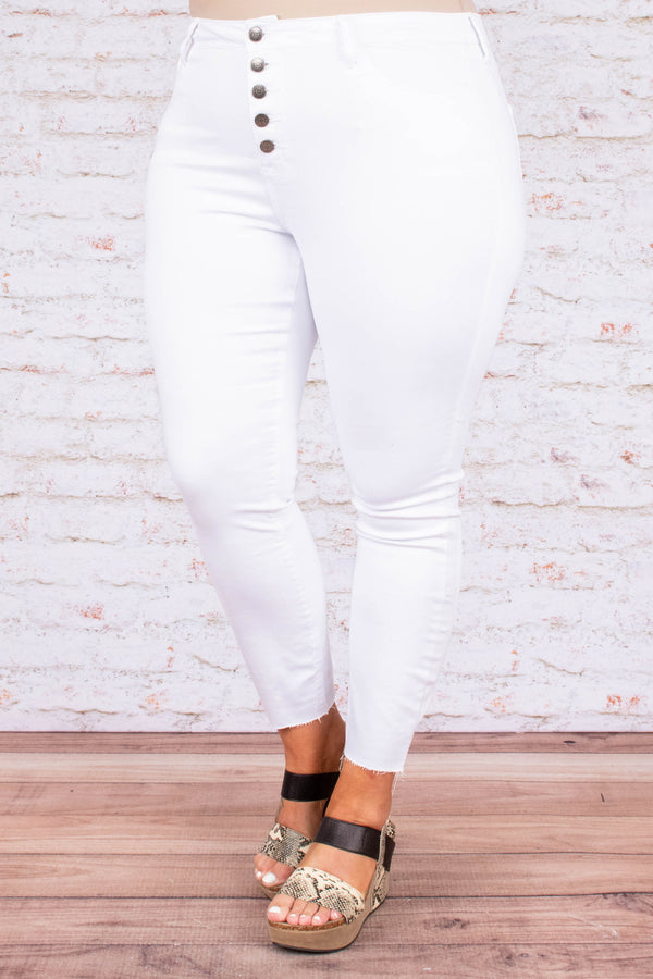 Another Adventure Skinny Jeans, White