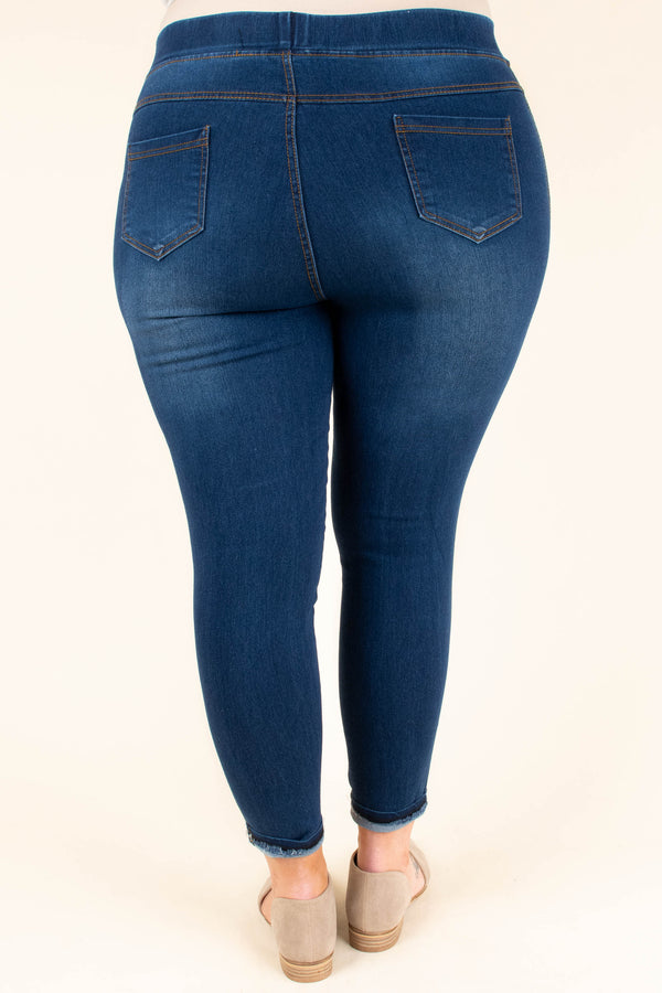 Ready To Roll Jeggings, Blue