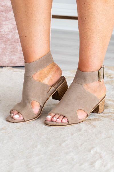 Keep On Dancing Booties, Taupe