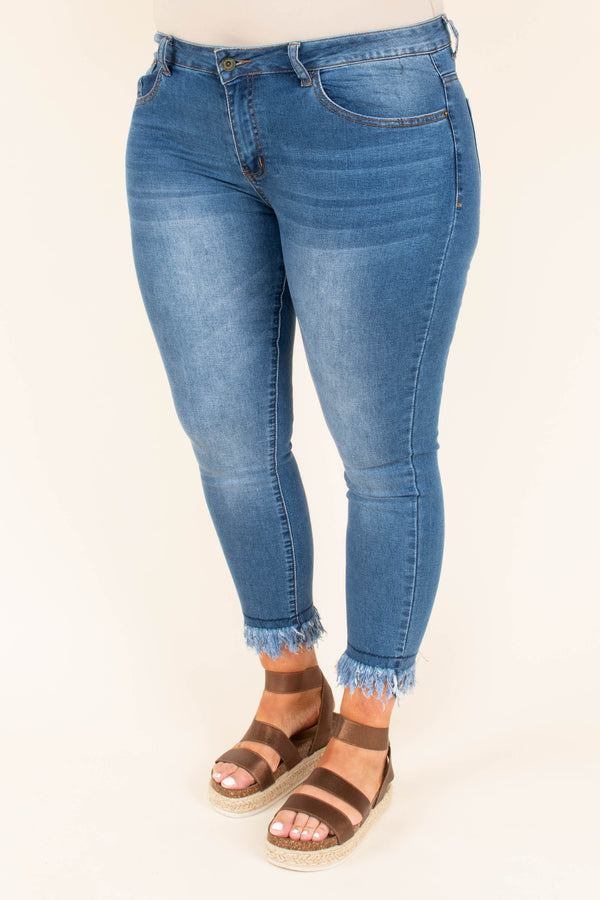 Play By Play Skinny Jeans, Denim