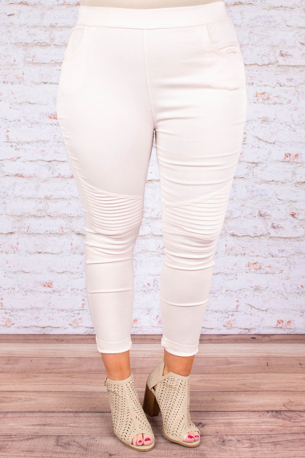 The Next Best Thing Jeggings, Dusty Pink