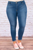 Classic Skinny Jeans, Medium Wash