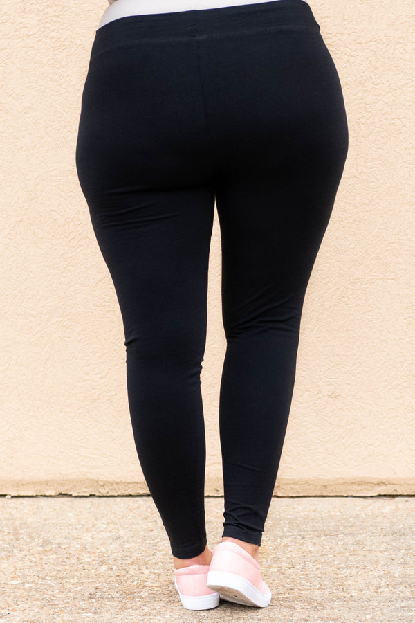 On The Run Leggings, Black