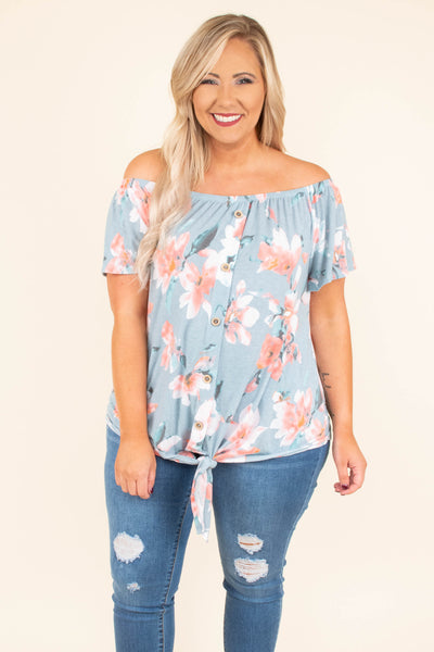 fabe564c3c Finding Paradise Top, Blue