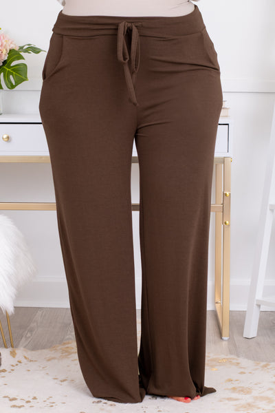 pants, long pants, lounge wear, americano, brown, comfy , loose. draw string