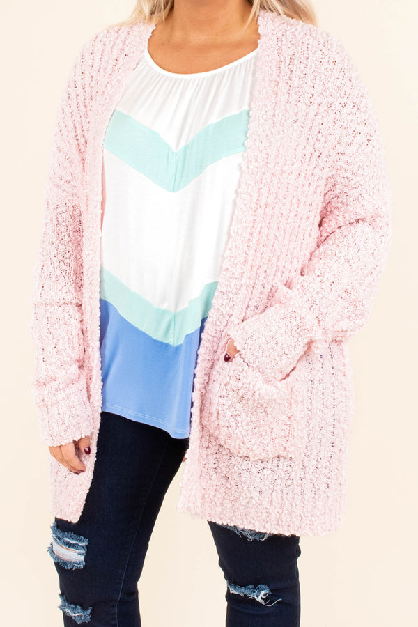 Perfect Touch Cardigan, Blush