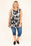 Lovin' Each Day Top, Black