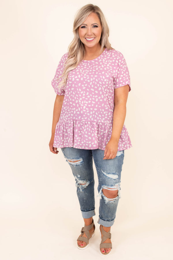 shirt, short sleeve, babydoll, long, flowy, pink, white, leopard, comfy