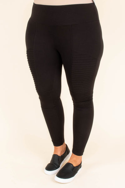 If You Only Knew Leggings, Black