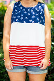 All American Girl Tank, Navy
