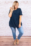 Counting The Stars Top, Navy