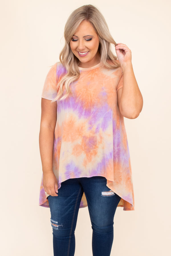 Like It's Your Birthday Tunic, Orange Multi