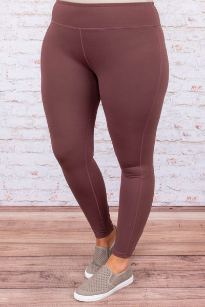 leggings, long, orchid, solid, comfy, lace up detail