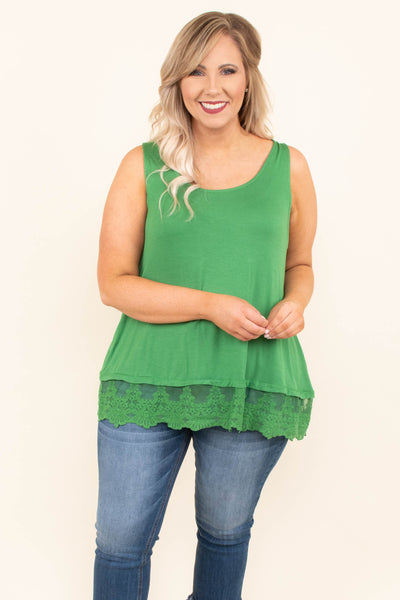 Nights in the Spotlight Top, Green