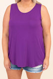 Ticket To Style Tank, Purple