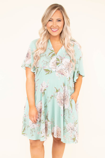 Look Up At The Stars Dress, Mint