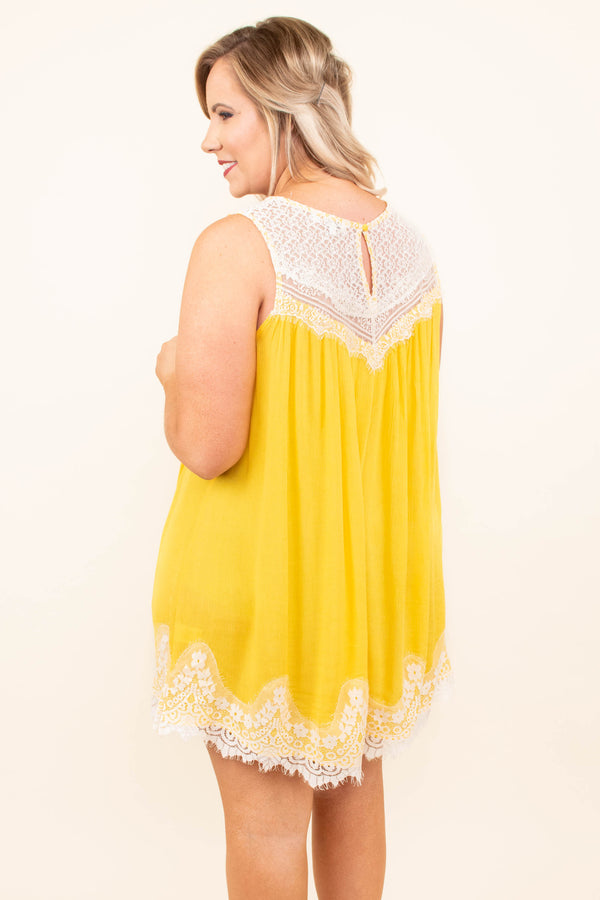 Laced With Love Dress, Mango