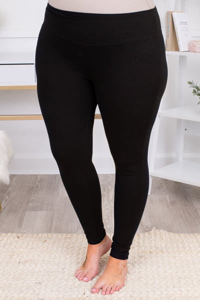 pants, leggings, long, ankle length, skinny, fitted, black, comfy