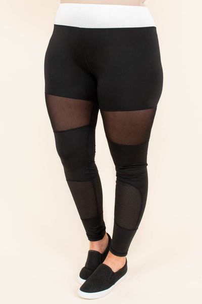 New Year New You Leggings, Black