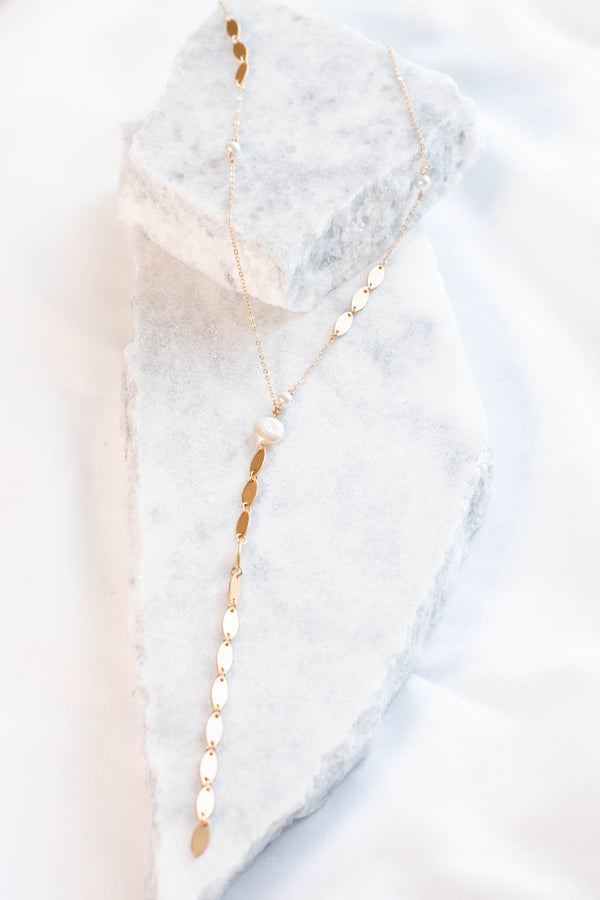 Lust For Life Necklace, White