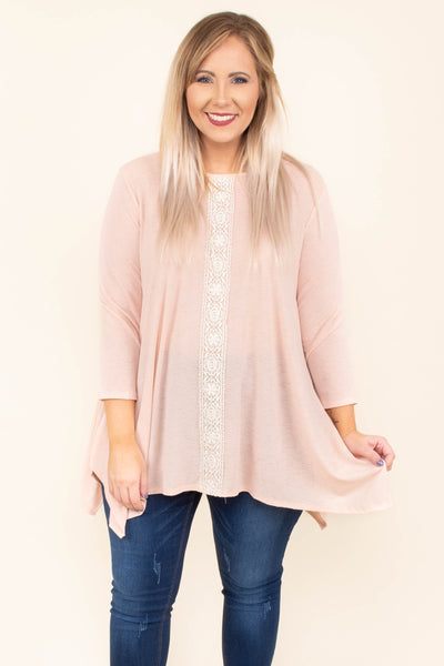 The Sweetest Song Top, Blush