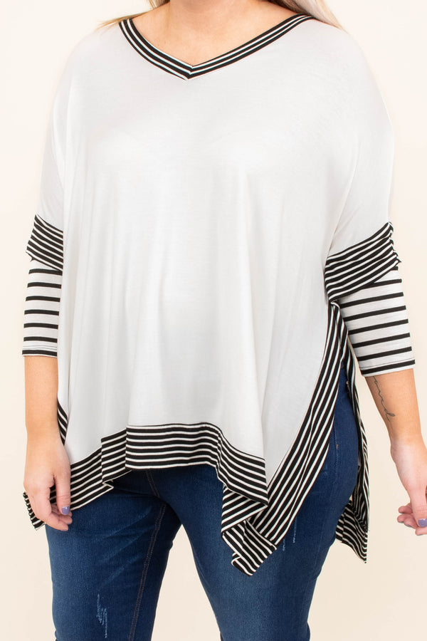 Delight In The Details Top, Ivory