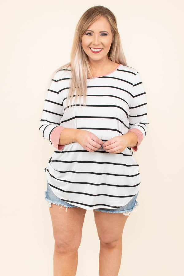 Getting Restless Tunic, White