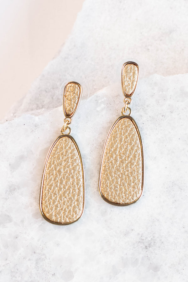 Royal Riches Earrings, Gold
