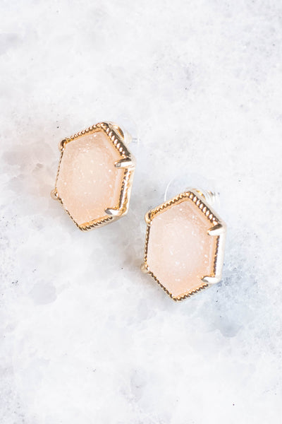 Moscato Dreams Earrings, Pink