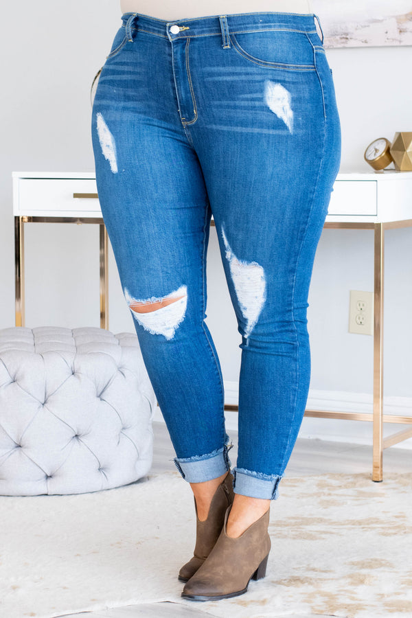What I'm Looking For Jeans, Medium Wash