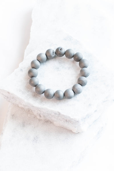 On A Journey Bracelet, Gray