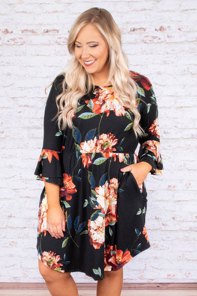 Little Wonders Dress, Black