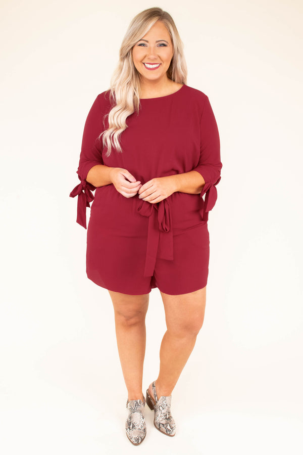 Like A Princess Romper, Cherry