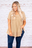 Ocean Drive Top, Brown